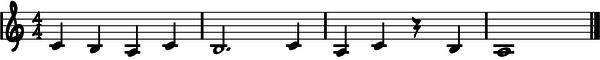 Ejercicio #1 quinta cuerda
