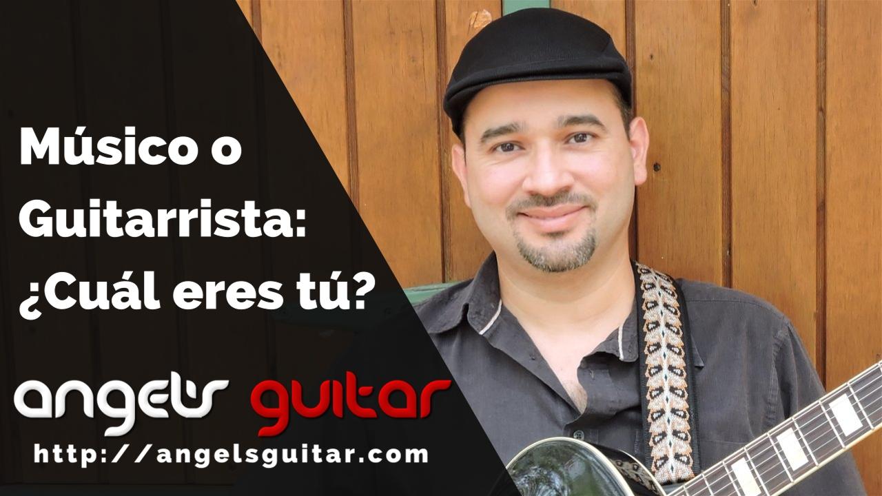 ¿Eres Guitarrista o Músico? 3 Características que Distinguen a un Músico de un Guitarrista