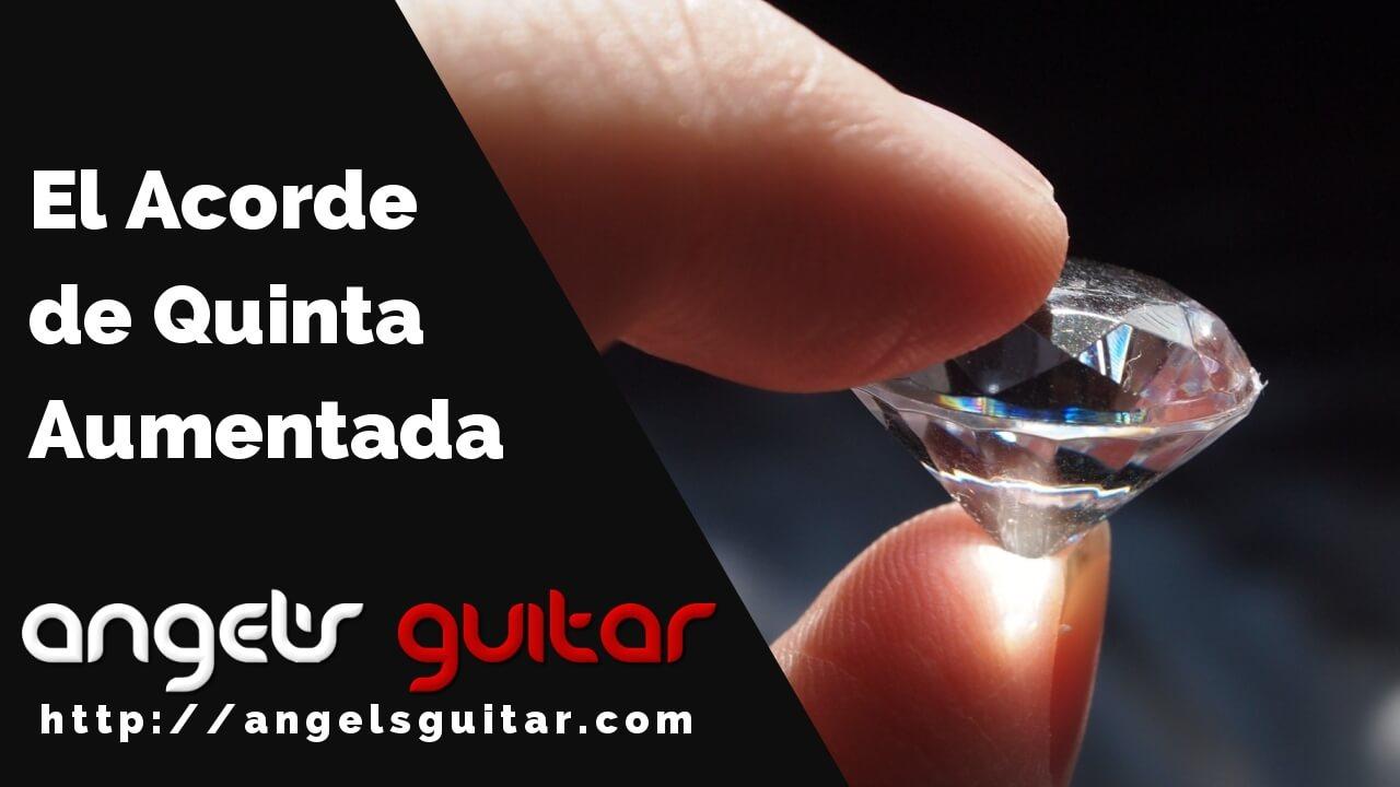 acordes aumentados guitarra